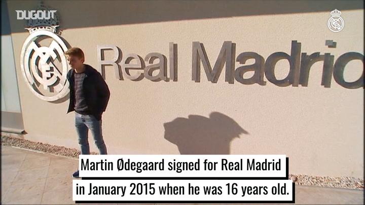 Martin Ødegaard's journey with Real Madrid