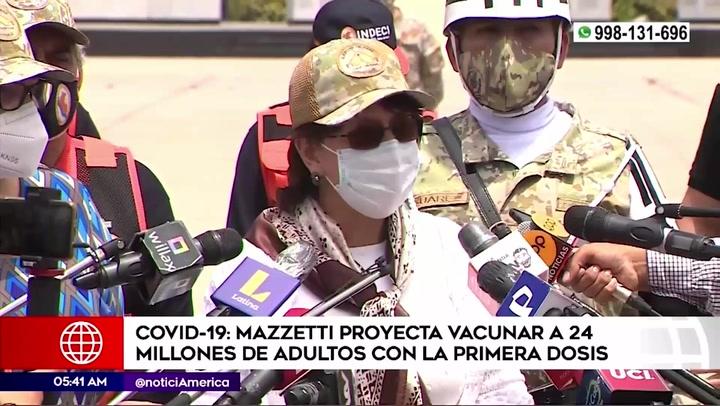 """Pilar Mazzetti: """"segunda ola de COVID-19 en el Perú podría darse entre dos y seis meses"""""""