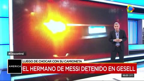 El hermano de Messi otra vez en problemas