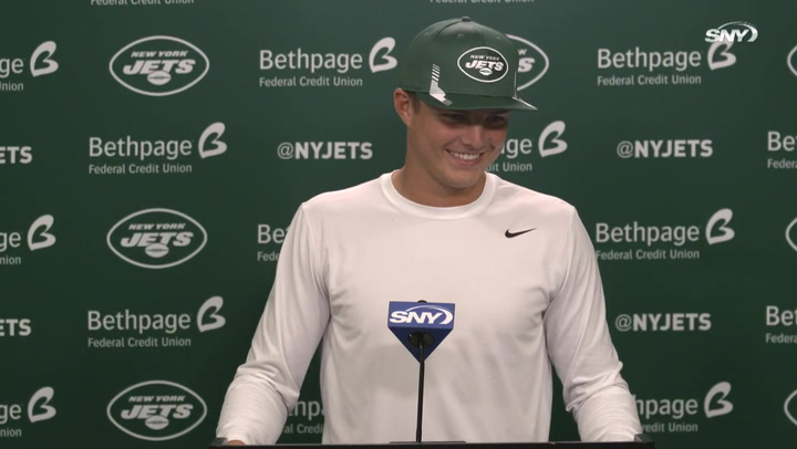Jets' Zach Wilson on first game against Patriots, Bill Belichick: 'I think it's gonna be a great challenge for me'