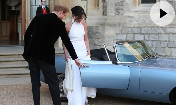 ¡De película! Harry y Meghan, protagonistas de una escena propia de James Bond