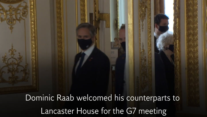 G7 foreign ministers meet amid tight coronavirus restrictions