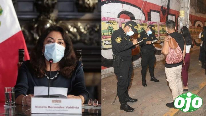 """""""Desde el 1 de marzo ya no hay cuarentena, pero sí toque de queda"""", aclara Violeta Bermúdez"""