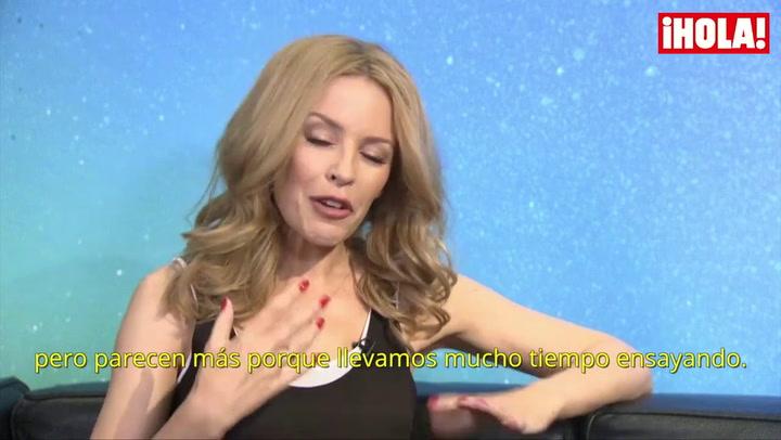 Kylie Minogue desvela secretos de su gira: \'Soy la jefa, pero también una jugadora más\'