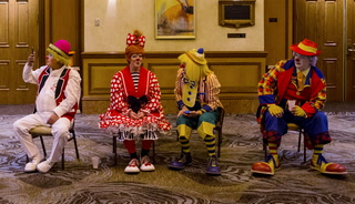Bunky the Clown at the clown convention