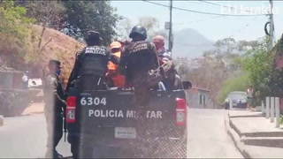 Varios detenidos por irrespeto al toque de queda en el Distrito Central