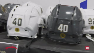 "Golden Knights Sell ""Battle Worn Armor"" To Season Ticket Holders – Video"