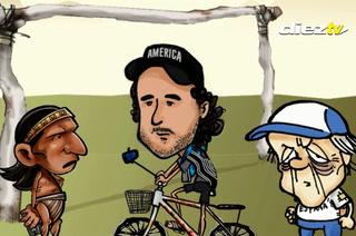 DIEZ COMICS: Lempirita le ayuda a salir de Honduras al ciclista Tabaré Alonso