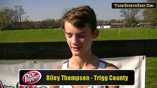 Thompson Talks About His Run in the Mud