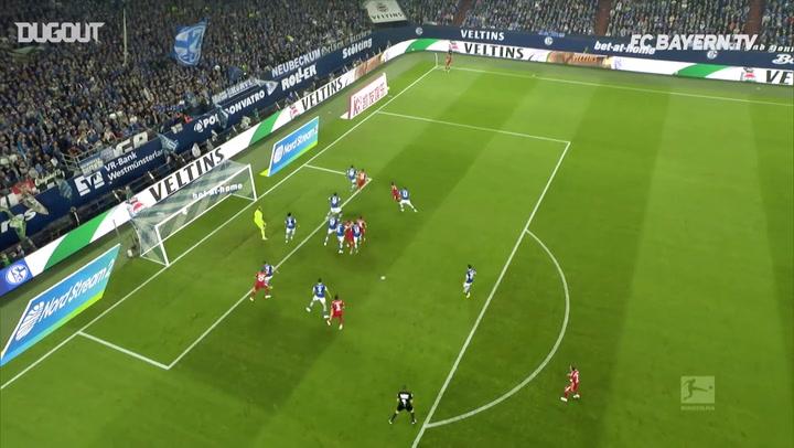 James Rodríguez's Fantastic Header Vs Schalke