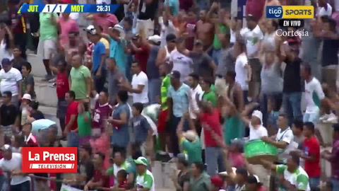 El golazo de Óscar Salas (Juticalpa) contra Motagua