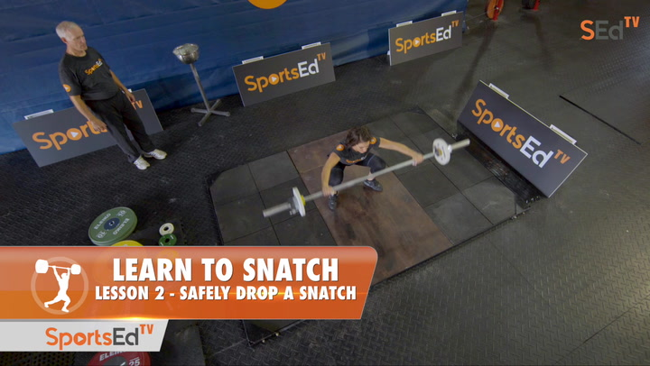 Learn To Snatch - Lesson 2 - Safely Drop a Snatch