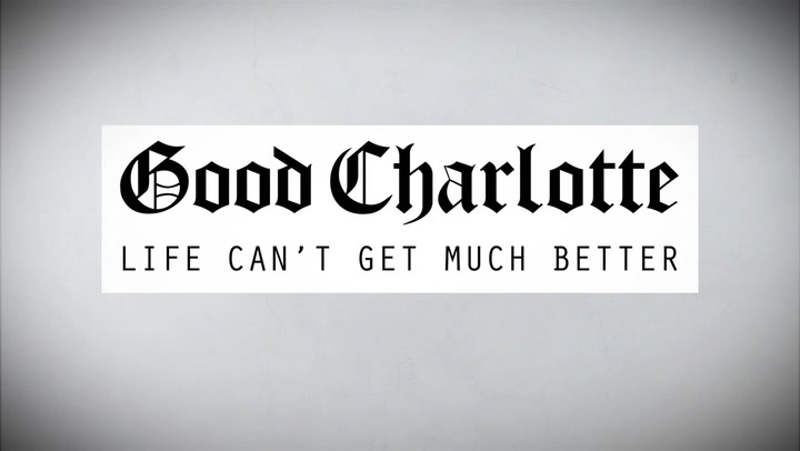 Good Charlotte's Fan Filled Life Can't Get Much Better Lyric Video