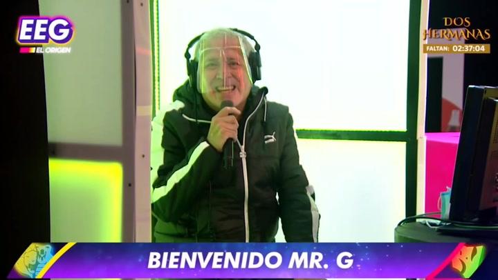 """EEG: 'Mister G' venció al covid-19 y regresó a """"Esto es guerra"""""""
