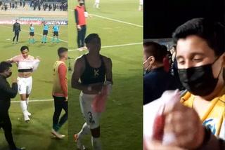El detallazo del hondureño Denil Maldonado con un pequeño seguidor del Everton de Chile