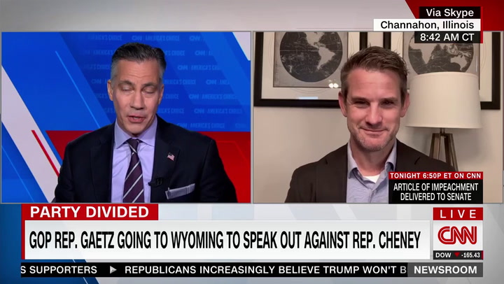 GOP Rep. Kinzinger: 'Majority' of GOP Would Have Voted to Impeach Trump in a 'Secret' Vote