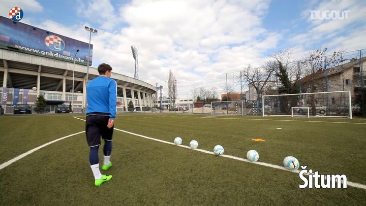 Dinamo Zagreb Crossbar Challenge