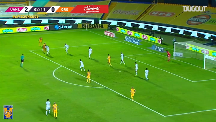 Nicolás López's backheel goal vs Querétaro
