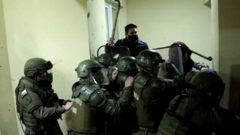 Noche de violencia e incendios en municipios de la región mapuche en Chile