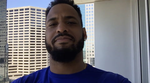 Derrick Johnson Pays Homage to Those In the Military