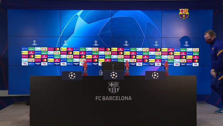 Rueda de prensa de Ronald Koeman, previa al partido de vuelta de la Champions contra el PSG (completa)