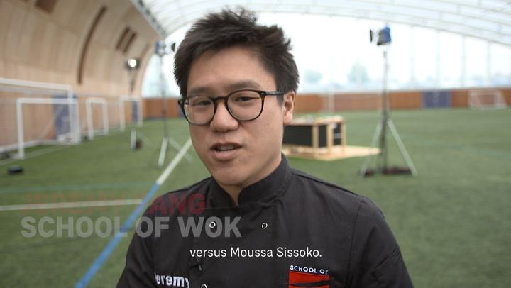 Hugo Lloris dan Moussa Sissoko: Nasi Goreng Udang dan Kari Ayam Hijau