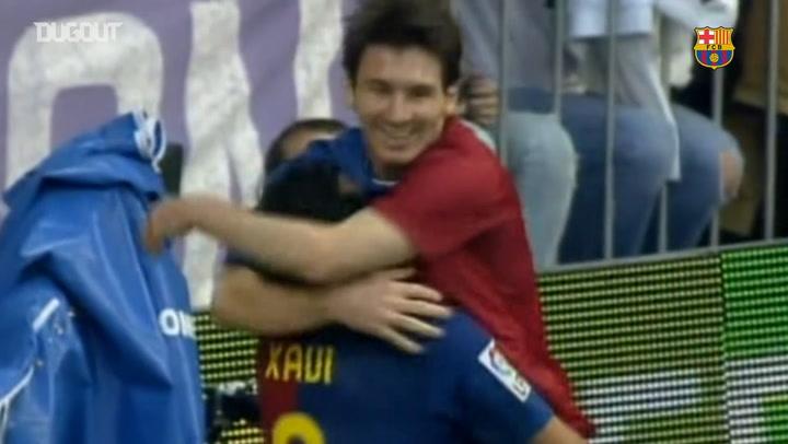 Leo Messi pasa a Xavi como jugador del Barcelona con más partidos en la Liga