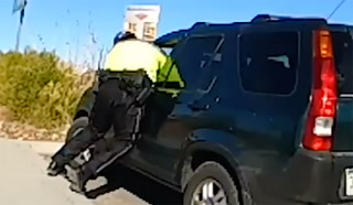 Nye County deputy dragged by Las Vegas man driving stolen vehicle – VIDEO