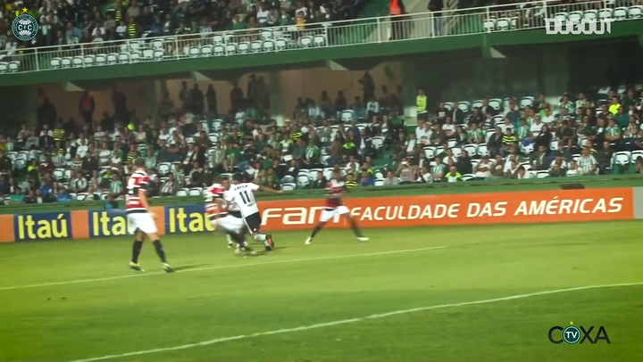 Leandro's best goals for Coritiba