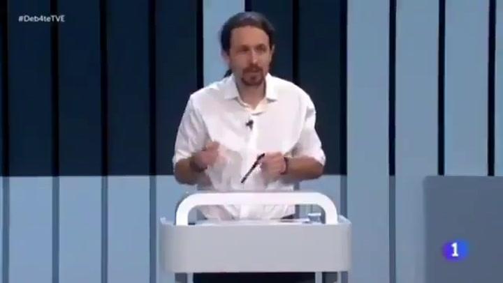 La pregunta de Vicente Vallés en 2016 que mete en un lío a Pablo Iglesias ahora