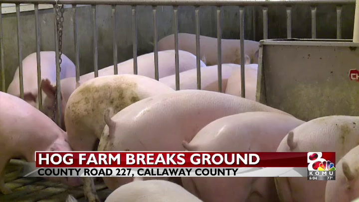 New Callaway County hog farm sparks controversy