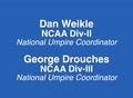 2014 NCAA DivII & DivIII Umpire Development Video
