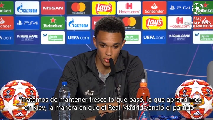 """Alexander-Arnold: """"La forma en que ganó el Madrid nos ayudó a madurar"""""""