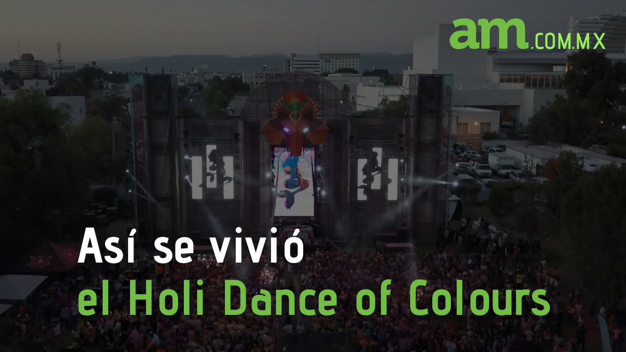Así se vivió el Holi Dance Colours