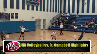 UHA Volleyball vs. Ft Campbell Highlights