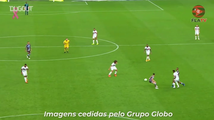 Diego Ribas' incredible goal vs Corinthians