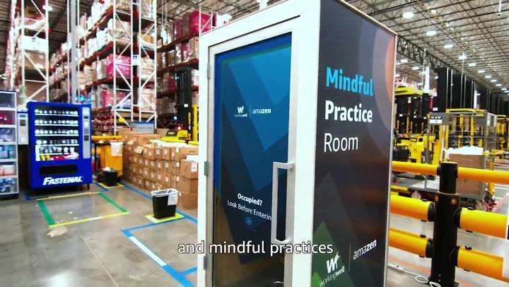 Amazon create AmaZen mindfulness pods for employees