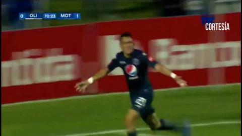 Motagua anota el 0-2 ante Olimpia con goles de Rubilio y Moreira