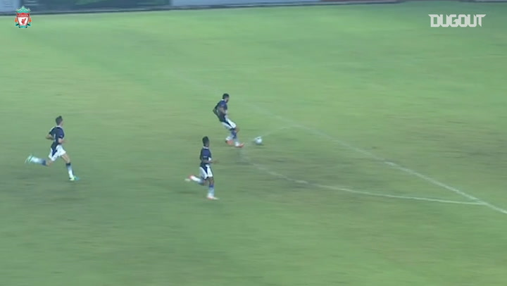 Raheem Sterling caps off team goal vs Indonesia XI
