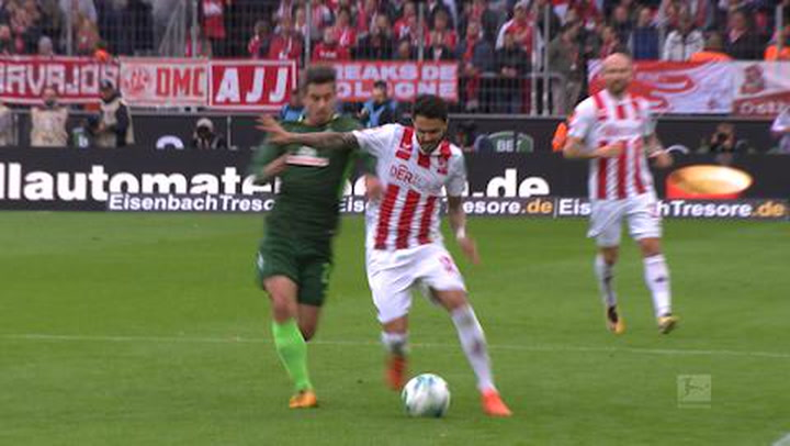 1. FC Köln - SV Werder Bremen 1. - 45. (2017-2018)