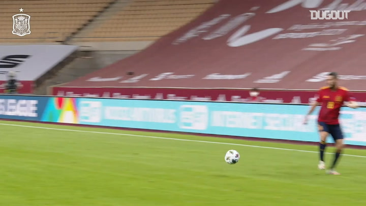 Pitchside view: Ferran Torres' historic hat-trick vs Germany
