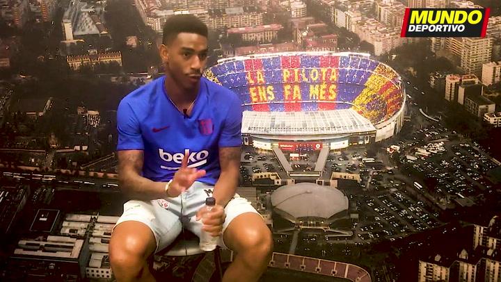 Entrevista a Junior Firpo, nuevo lateral zurdo del Barça 2019/20