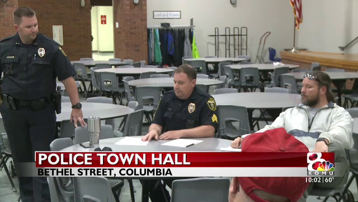 Columbia police meet with residents of southwest Columbia