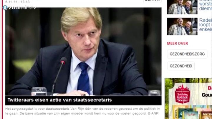 Martin van Rijn: 'Mijn vader werd niets verboden'