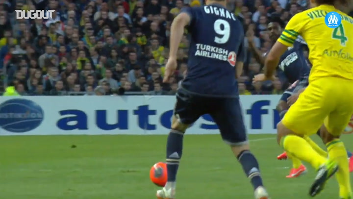 All Florian Thauvin's goals vs Nantes