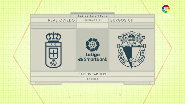 LaLiga SmartBank (J11): Resumen y goles del Oviedo 1-3 Burgos