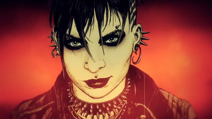 The Girl With the Dragon Tattoo Comic Book - Trailer No. 1