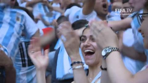 Los goles de Messi y Di María entre los 18 mejores del Mundial