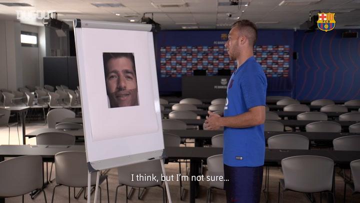 Barça Faces Challenge - Arthur Melo