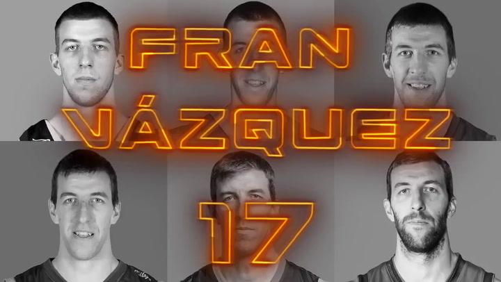 """La ACB homenajea a Fran Vázquez tras 19 temporadas de """"espectáculo"""""""